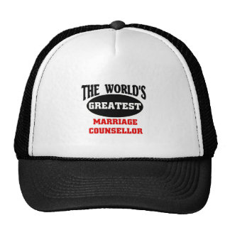 Marriage Counsellor Trucker Hat
