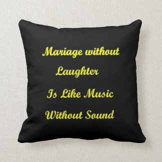 MARRIAGE CREED American MoJo Pillow