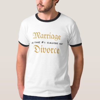 Marriage & Divorce T-Shirt
