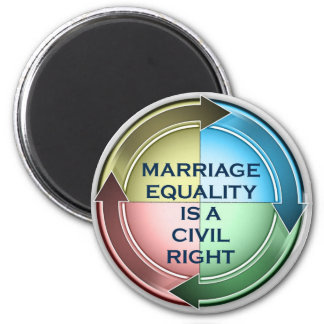 Marriage Equality 2 Inch Round Magnet