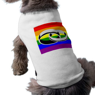 Marriage Equality Gay Pride Dog T-Shirt