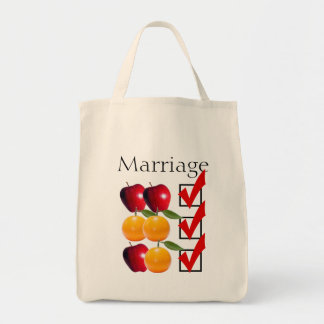 """marriage equality"" GROCERY TOTE"