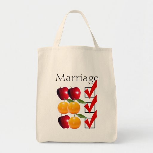 """""""marriage equality"""" GROCERY TOTE Bags"""