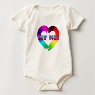 Marriage Equality in New York GBLT Design Baby Bodysuit