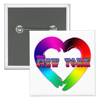 Marriage Equality in New York GBLT Design Pins