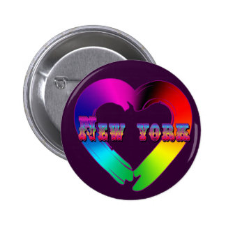 Marriage Equality in New York GBLT Design Button