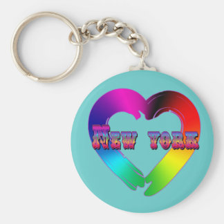 Marriage Equality in New York GBLT Design Key Chain