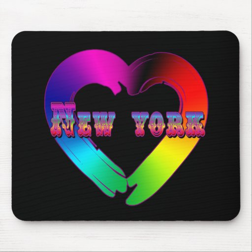 Marriage Equality in New York GBLT Design Mouse Pad