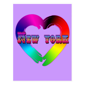 Marriage Equality in New York GBLT Design Postcard