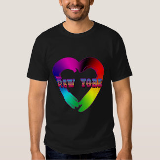 Marriage Equality in New York GBLT Design T-Shirt