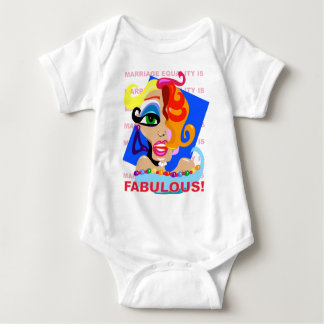 Marriage Equality Is Fabulous Baby Bodysuit