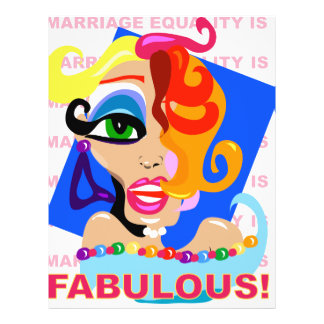 Marriage Equality Is Fabulous Flyer