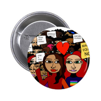 Marriage Equality Now! 2 Inch Round Button