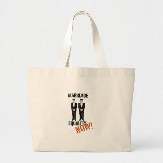 Marriage Equality Now! Jumbo Tote Bag