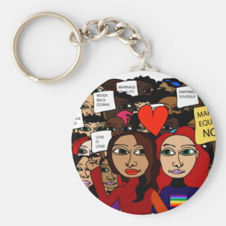 Marriage Equality Now! Keychains