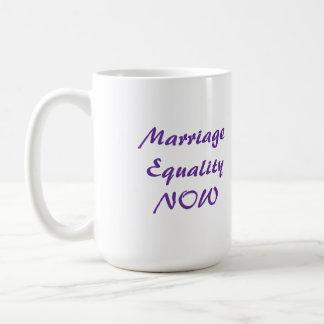 Marriage Equality NOW mug