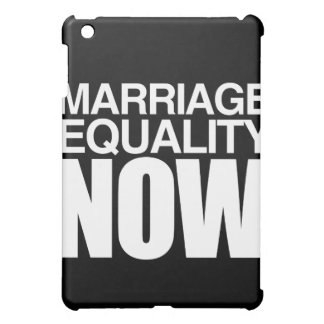 MARRIAGE EQUALITY NOW - png iPad Mini Case