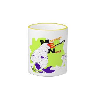 Marriage Equality Now! Ringer Coffee Mug