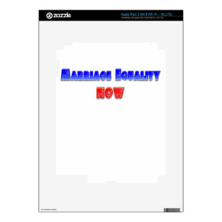 Marriage Equality Now! Skin For iPad 3