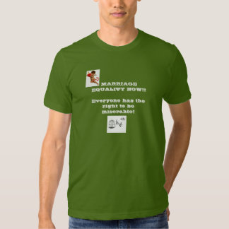 """""""Marriage Equality Now"""" T-shirt"""
