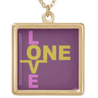 Marriage Equality / One Love custom necklace