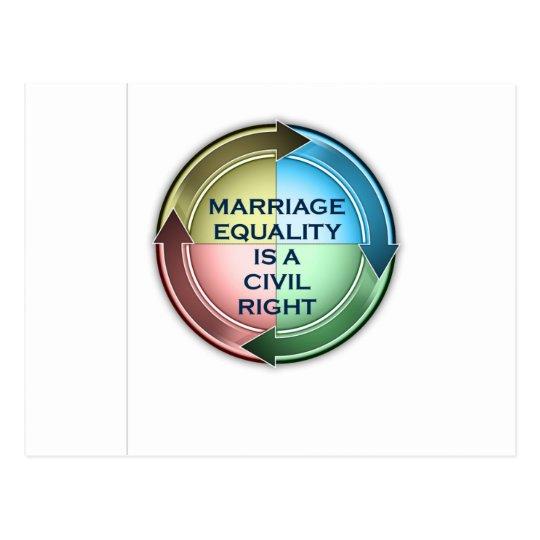 Marriage Equality Postcard