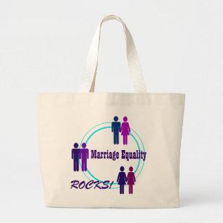 Marriage Equality ROCKS! Canvas Bag
