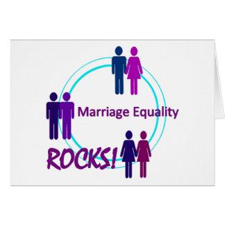 Marriage Equality ROCKS! Card