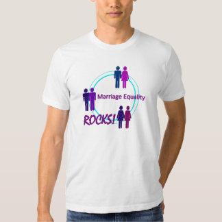 Marriage Equality ROCKS! Tee Shirts