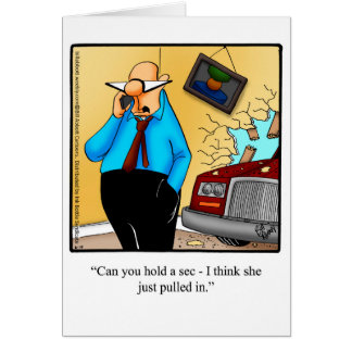 """Marriage Humor Blank Greeting Card """"Spectickles"""""""