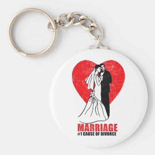 Marriage Humor Key Chain
