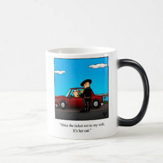 "Marriage Humor ""Speeding Ticket"" Mug Gift"