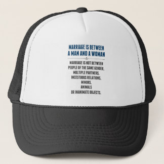 Marriage In America Trucker Hat