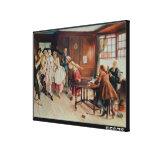 Marriage in Fleet Street, 1898 (oil on canvas) Canvas Print