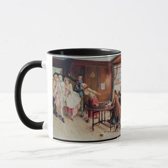 Marriage in Fleet Street, 1898 (oil on canvas) Mug
