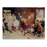 Marriage in Fleet Street, 1898 (oil on canvas) Postcard