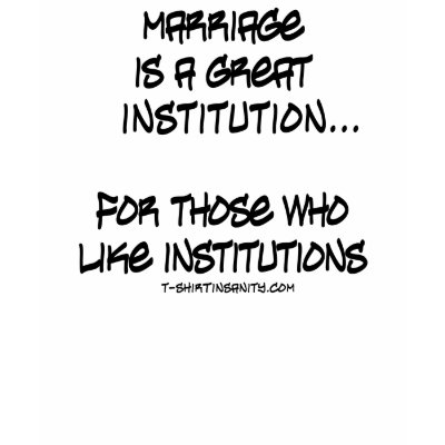 the institution of marriage in a great detail Social conservatives argue that a once-great institution has been undermined by ever  graphic detail 7  the institution of marriage increasingly confers.
