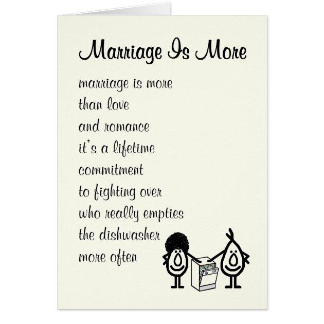 50th Wedding Anniversary Poems Funny: Funny Wedding Anniversary Poem Card
