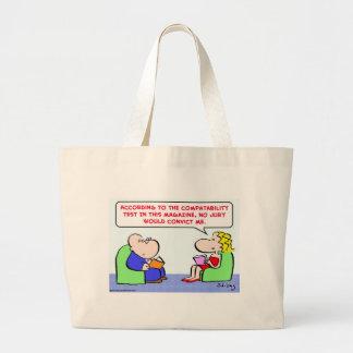 marriage jury convict canvas bag