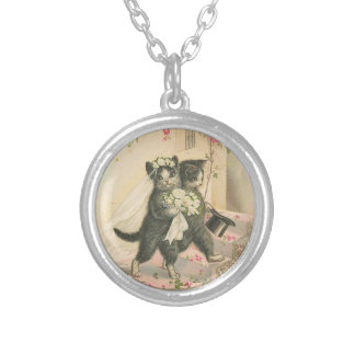 Marriage Kittens Cat Necklace