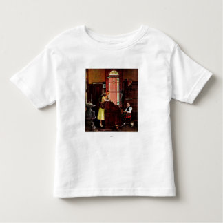 Marriage License by Norman Rockwell Toddler T-shirt
