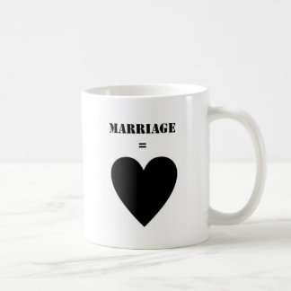 Marriage = Love Coffee Mug