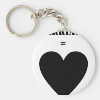 Marriage = Love Key Chains