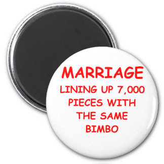 MARRIAGE REFRIGERATOR MAGNETS