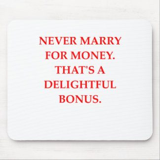 marriage mouse pad
