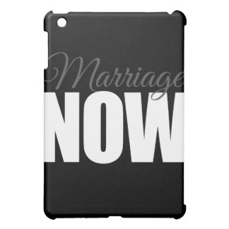 MARRIAGE NOW - png iPad Mini Cases