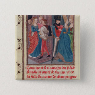 Marriage of Baldwin VI and Marie Button