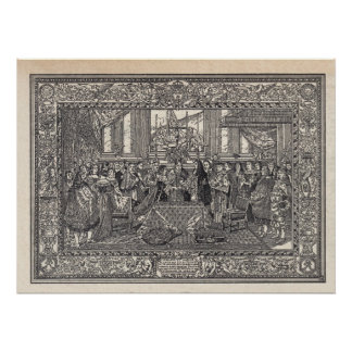 Marriage of Louis XIV Print