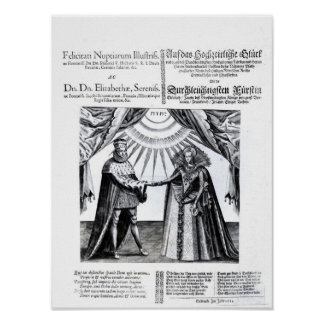 Marriage of Princess Elizabeth Poster