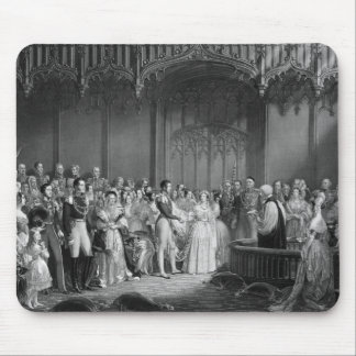 Marriage of Queen Victoria  and Prince Albert Mouse Pad
